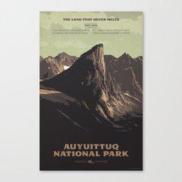 Auyuittuq National Park Canvas Print