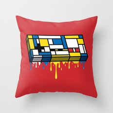 The Art of Gaming Throw Pillow