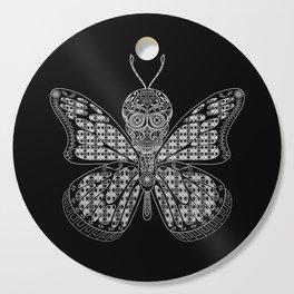 black mothman prophecy ecopop Cutting Board