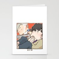 221b Stationery Cards featuring 221B by Negative Dragon