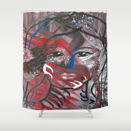Flying Nature by Lu Shower Curtain