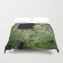 Beyond the void Duvet Cover