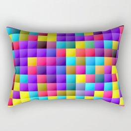 Pixel dance floor. Rectangular Pillow