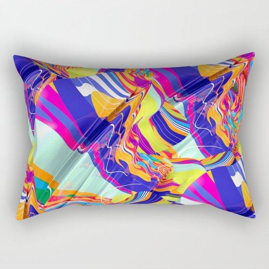 To Swim Rectangular Pillow