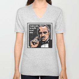 Vito Corleone Unisex V-Neck