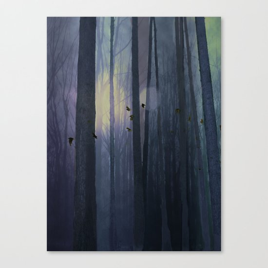Midnight migration Canvas Print