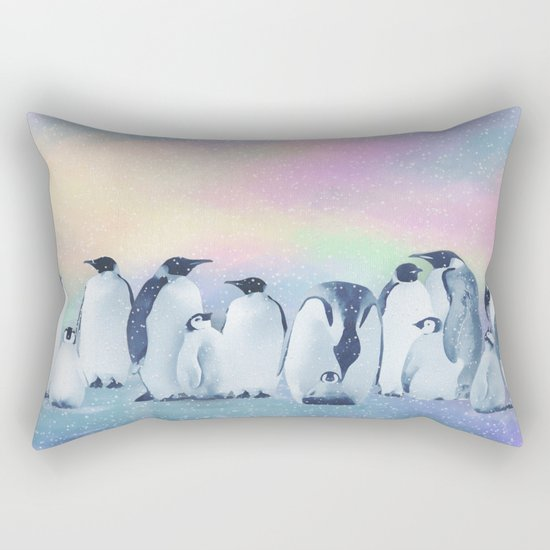 All Quiet on the South Pole Rectangular Pillow