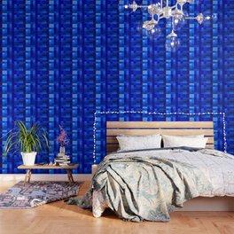 Blue Mosaic Wallpaper