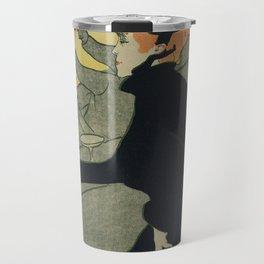 Henri De Toulouse Lautrec - Divan Japonais Travel Mug