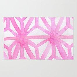 Pink Asanoha Rug