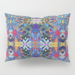 Garden Party - Blue Pillow Sham