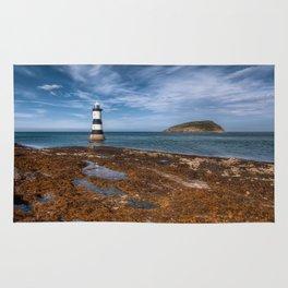 Penmon Point Lighthouse Rug