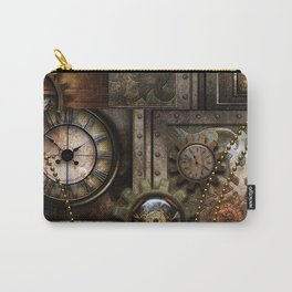 Steampunk, wonderful clockwork with gears Carry-All Pouch