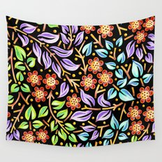 Filigree Flora Wall Tapestry