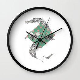 Snail and Pelvics  Wall Clock