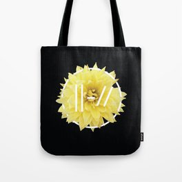 Trench Yellow Flower Tote Bag