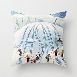 Nízke Tatry Throw Pillow