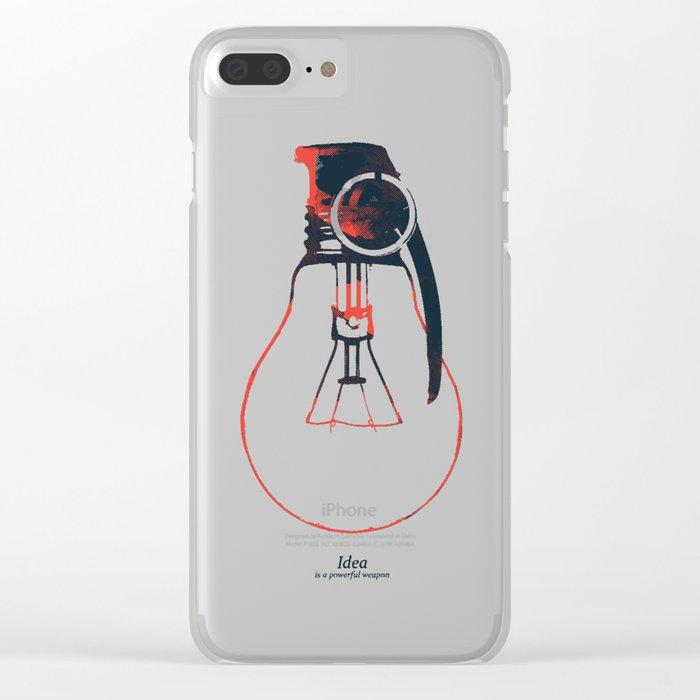 Idea Bomb (2) Clear iPhone Case