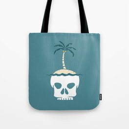 Skull Island – Blue Tote Bag