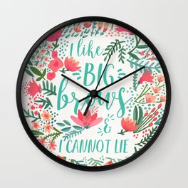 Big Brows – Juicy Palette Wall Clock