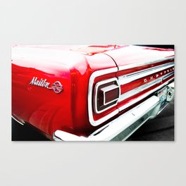 Chevy Malibu Canvas Print