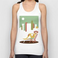 central park Tank Tops featuring Central Park by Szoki