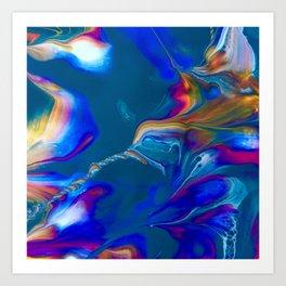 Hummingbird Nebula Art Print