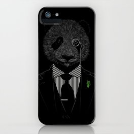 Sir Panda iPhone Case