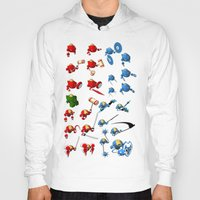 robots Hoodies featuring Robots by Artysmedia