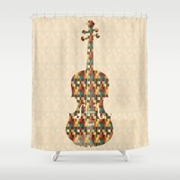 charlie brown Shower Curtains featuring Charlie by Halamo Designs