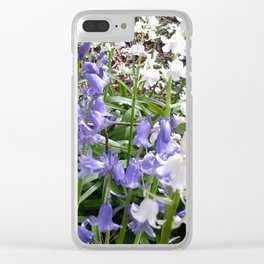 Bluebells Photo 615a Clear iPhone Case