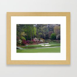Augusta Amen Corner Golf Framed Art Print