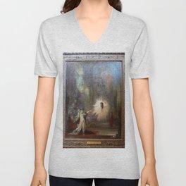 Gustave Moreau - The Apparition Unisex V-Neck