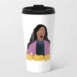 How Dare You Travel Mug