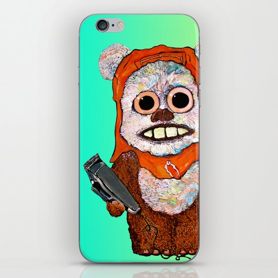 Eccentric Ewok iPhone & iPod Skin