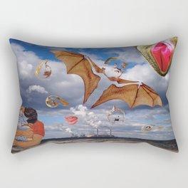 Bat shit crazy about you Rectangular Pillow