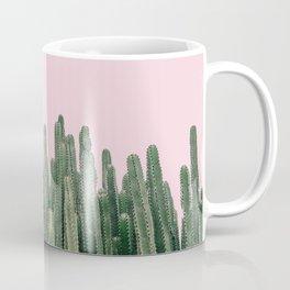 Pink Sky Cactus Coffee Mug