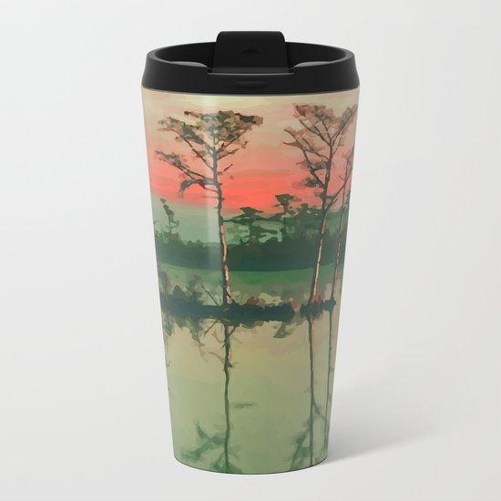 Lake House Metal Travel Mug