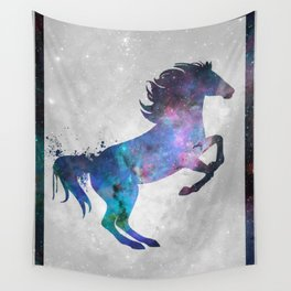 Galaxy Series (Horse) Wall Tapestry