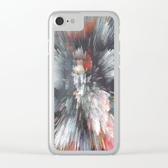 Abstract night Clear iPhone Case