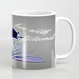 Falling Fiction (fem) - Blue Coffee Mug