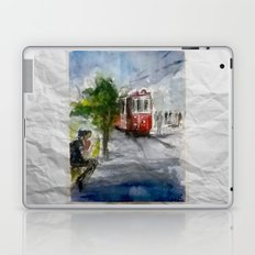 Old Tram in Istanbul Laptop & iPad Skin