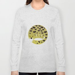 Leopard changing his spots Long Sleeve T-shirt