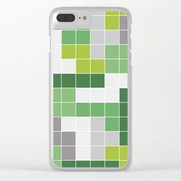 Quad 3 Clear iPhone Case