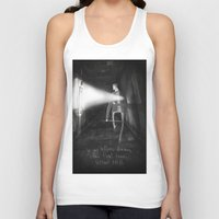 silent hill Tank Tops featuring James Sunderland from Silent Hill 2 by Peerro