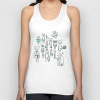 sports Tank Tops featuring les sports by Estelle F