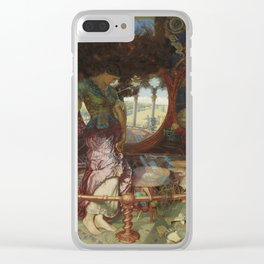 Lady of Shalott by William Holman Hunt Clear iPhone Case