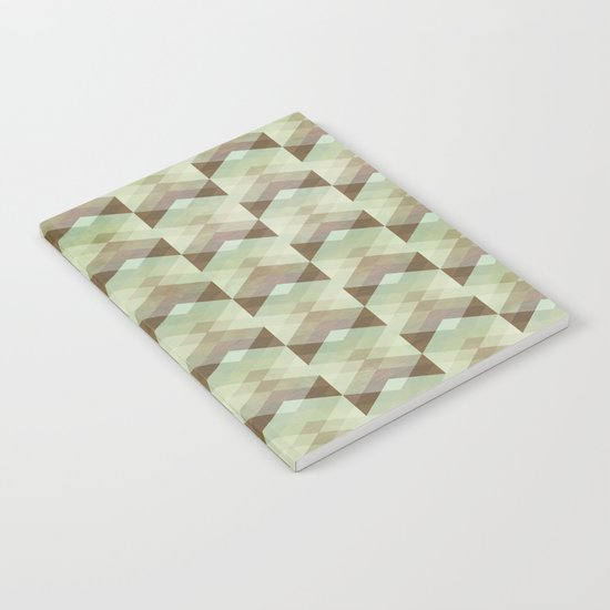 Hipster Pattern Notebook