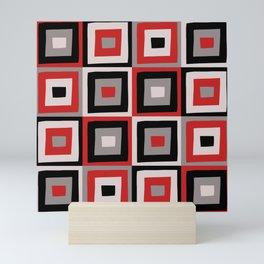 Squares Mini Art Print