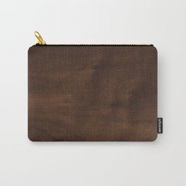 walnut textile natural wood Carry-All Pouch